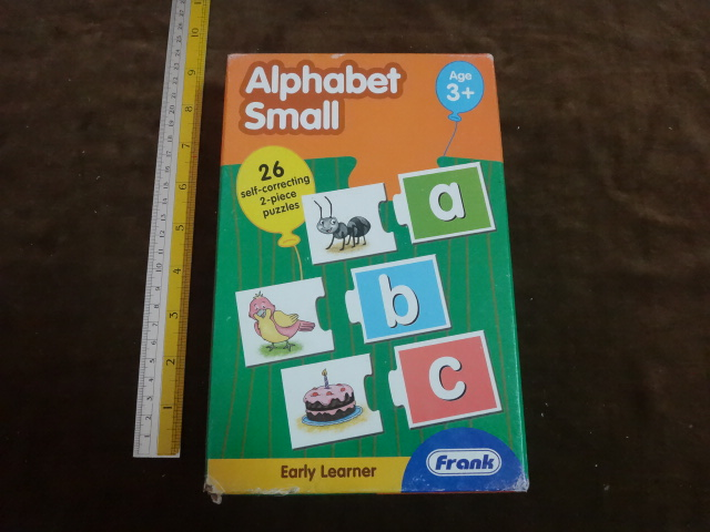 Alphabet small จับคู่ตัวอักษร