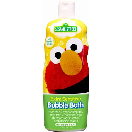 Z Elmo Bubble bath