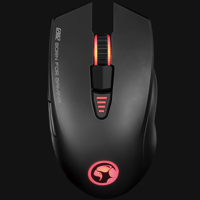 Marvo G982 BACKLIT,PROGRAMMABLE ADVANCED GAMING MOUSE