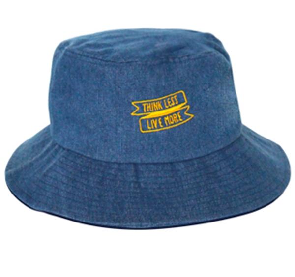 Pre-order หมวกยีนส์แฟชั่น หมวกปีกกว้าง หมวกฤดูร้อน กันแดด กันแสงยูวี สีบลูยีนส์