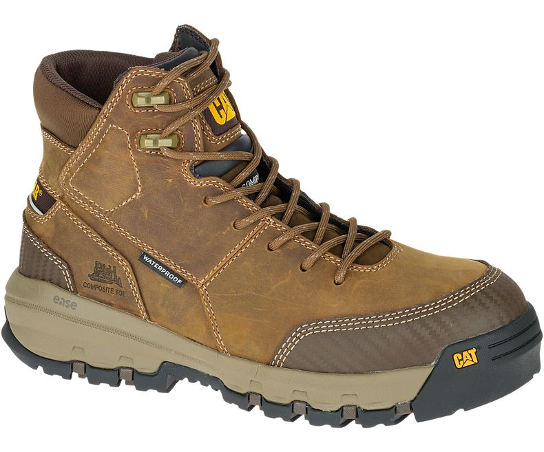 รองเท้า Caterpillar DEVICE WATERPROOF COMPOSITE TOE WORK BOOT Size 40 - 45