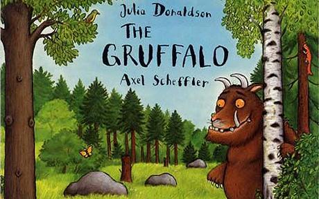 DVD The Gruffalo by Julia Donaldson ( ทั้ง 2 ภาค ) 2 แผ่นราคา 50 บาท