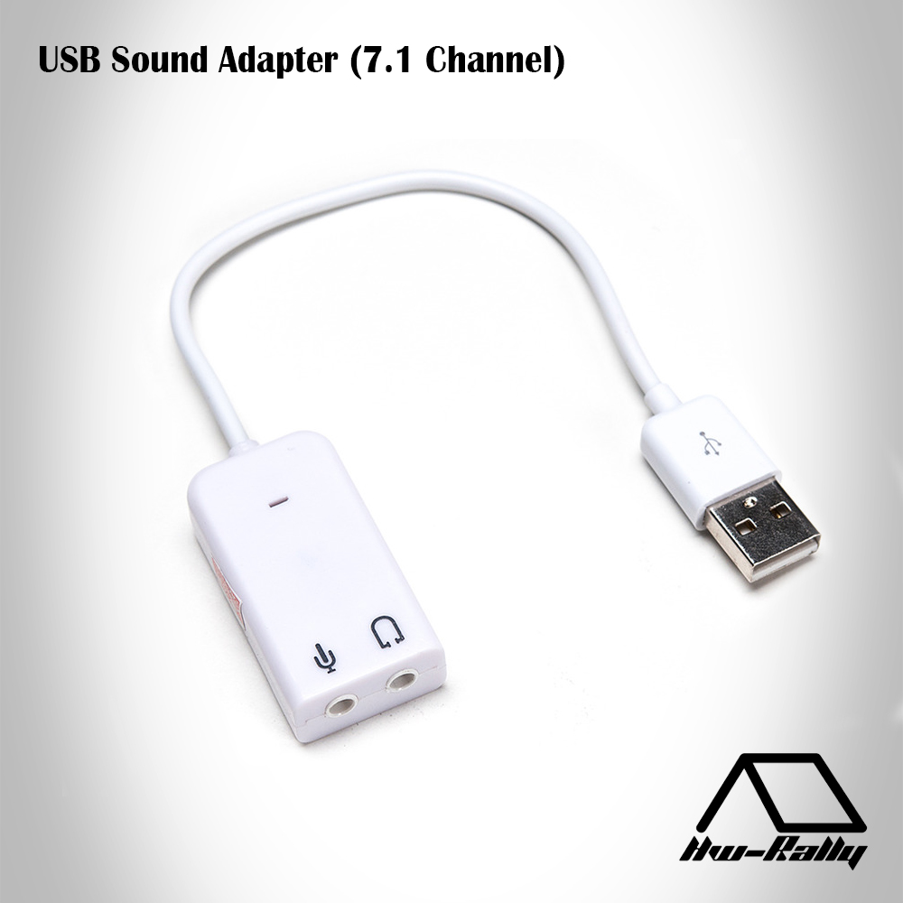 USB Sound Adapter (7.1 Channel)