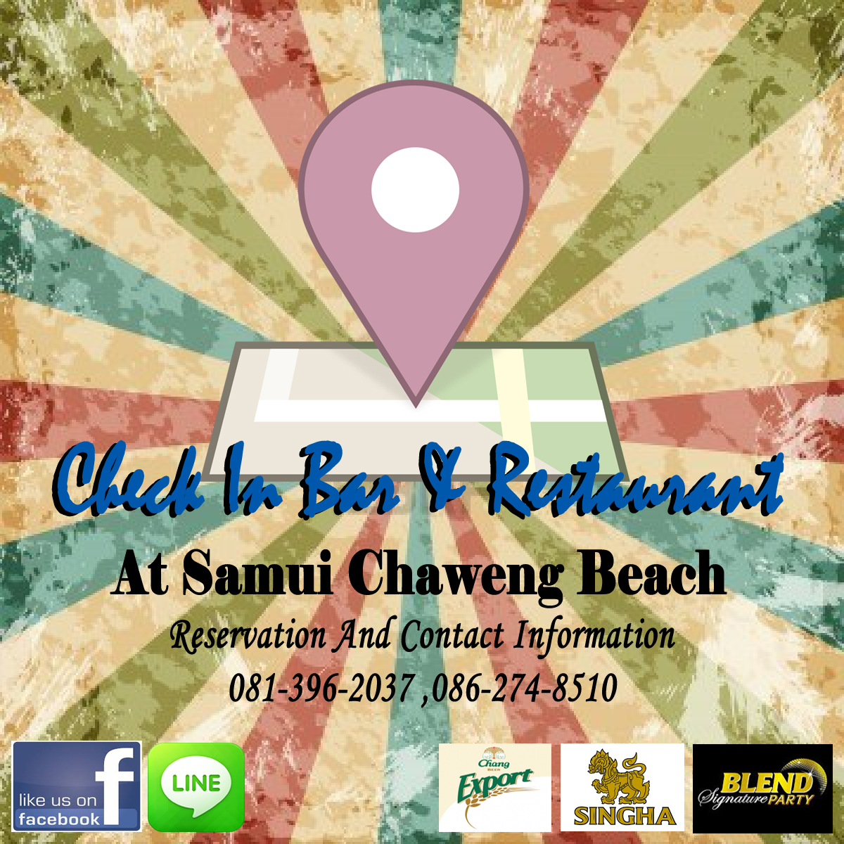 Check In Bar & Restaurant Samui Beach