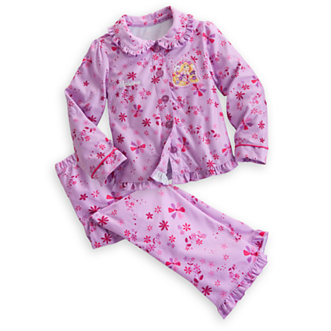 Z Rapunzel Pajama Set for Girls - Holiday - Personalizable