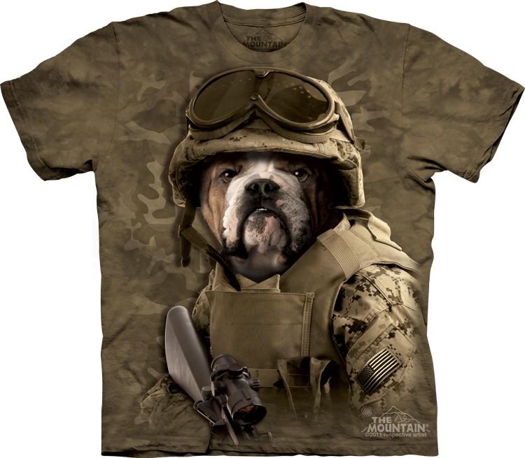 Pre.เสื้อยืดพิมพ์ลาย3D The Mountain T-shirt : Combat Sam