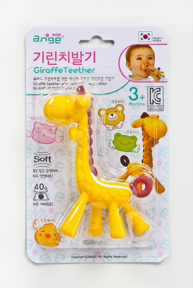 Ange Teether อังจู ยางกัดยีราฟ (Ange the Giraffe)