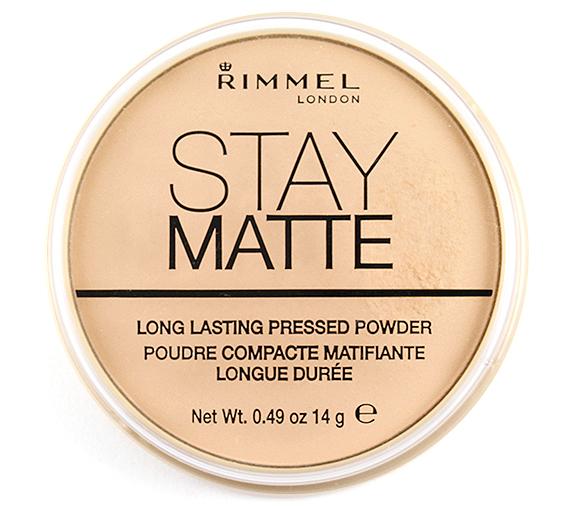 Rimmel London Stay Matte Pressed Powder #Transparent 001