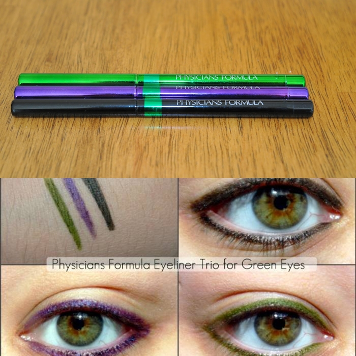 **พร้อมส่ง+ลด 70%**physicians formula shimmer strips custom eye enhancing eyeliner trio สี Green Eyes