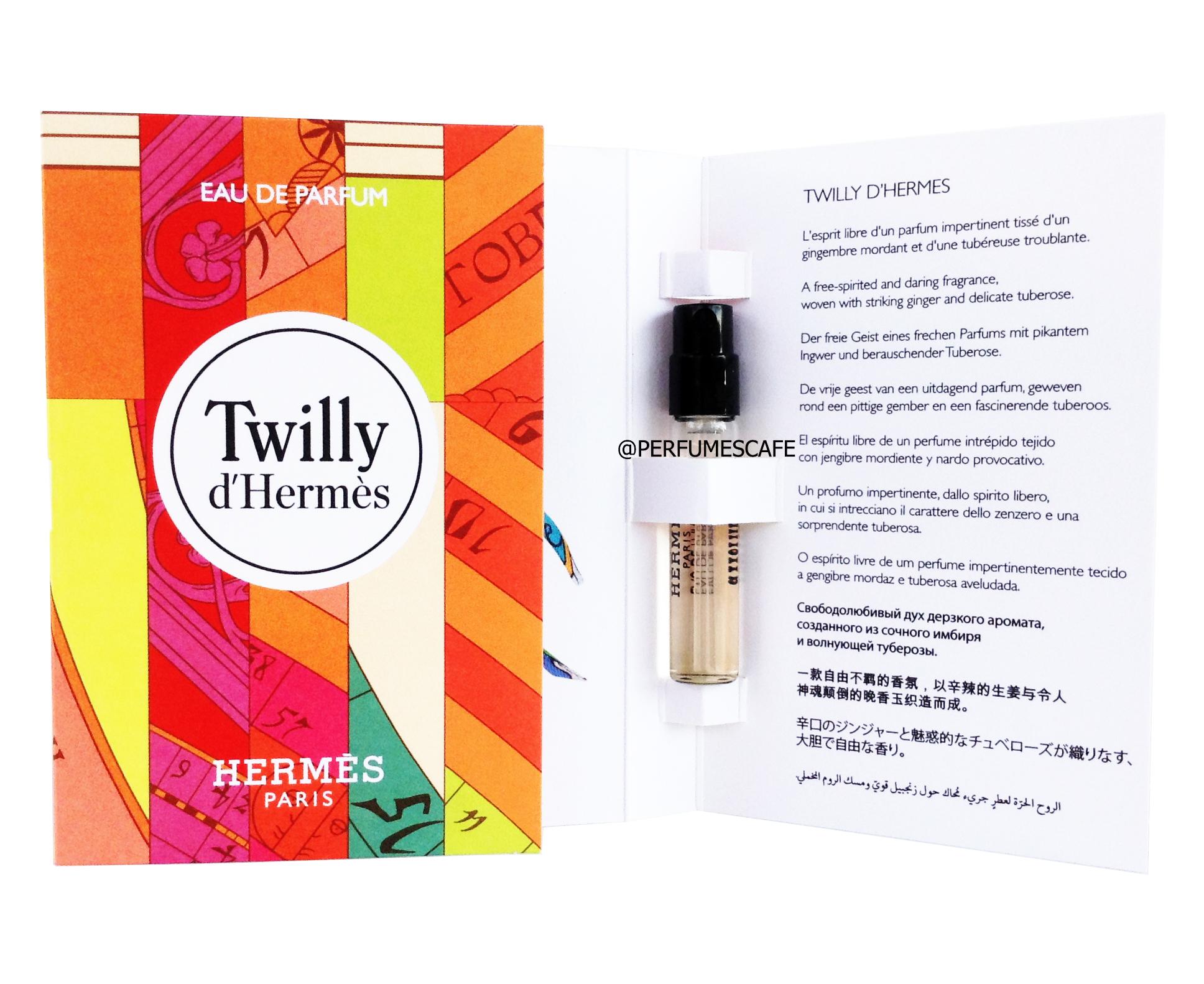 น้ำหอม Twilly d'Hermès Eau de Parfum ขนาดทดลอง 2ml