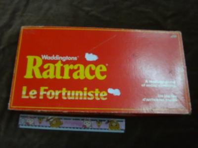 Waddingtons Ratrace boardgame
