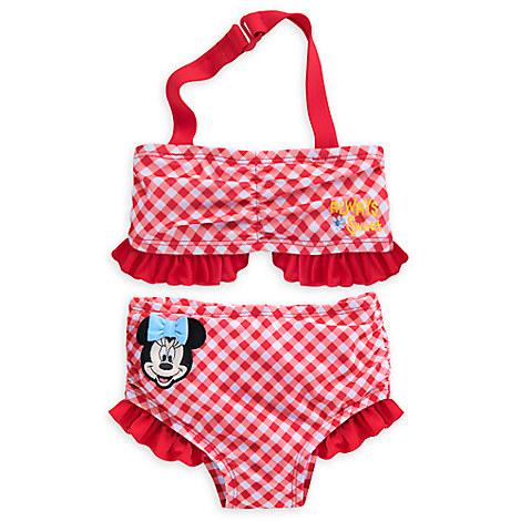 Minnie Mouse Swimsuit for Baby - 2-Piece from Disney USA ของแท้100% นำเข้า จากอเมริกา