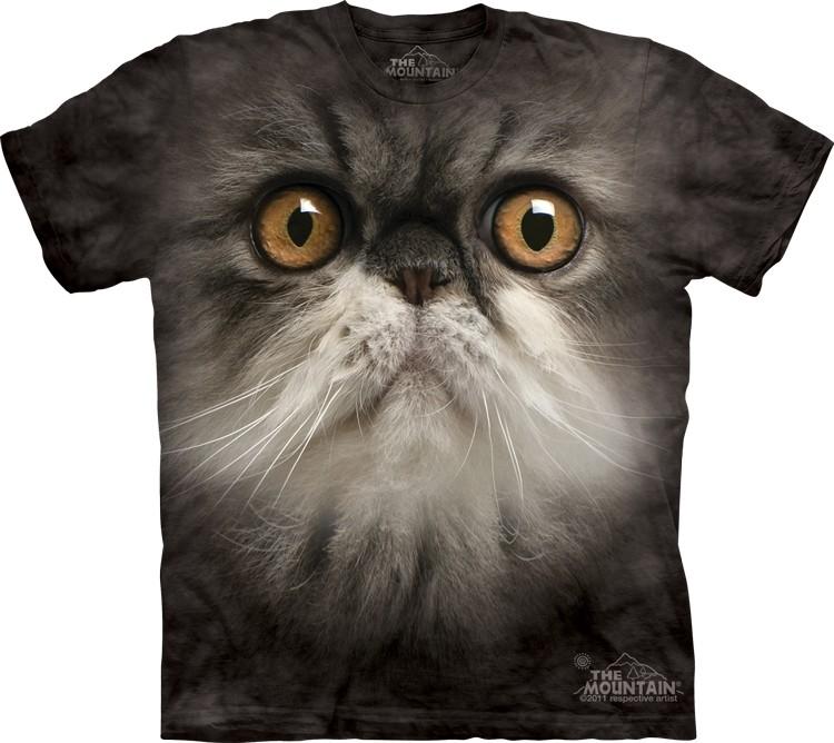 Pre.เสื้อยืดพิมพ์ลาย3D The Mountain T-shirt : Furry Face