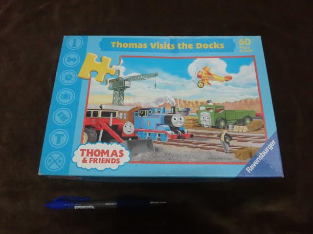 จิ๊กซอว์ 60 ชิ้น Thomas visits the Docks