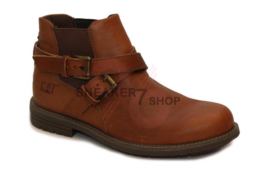 รองเท้า Caterpillar Mens Lace Up Leather Ankle Boots Size 40-44