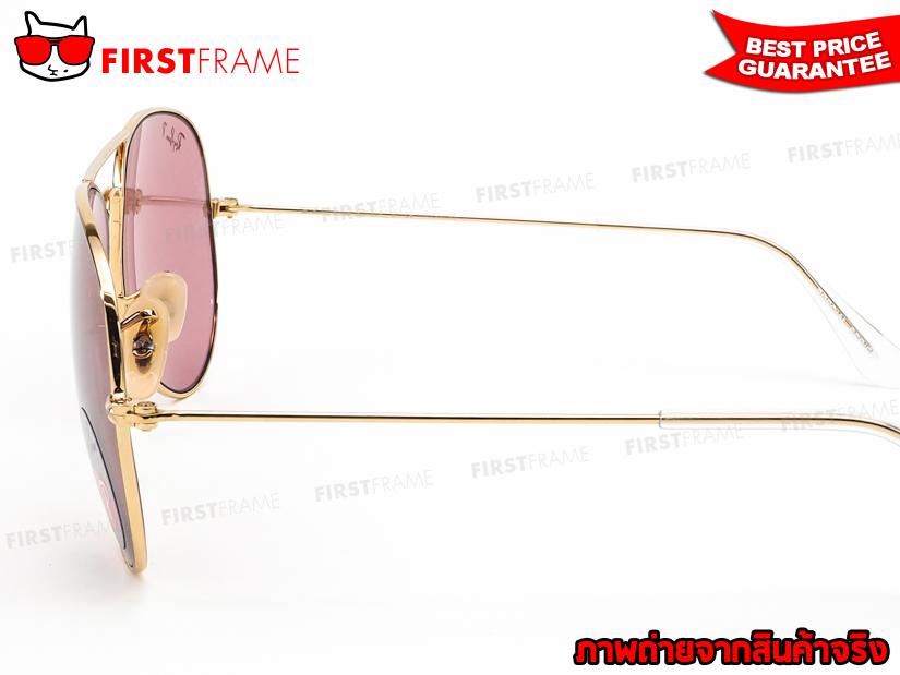 แว่นกันแดด RayBan RB3025 001/15 AVIATOR LARGE METAL5