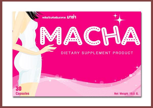 Macha มาช่า ลดน้ำหนัก ลดความอ้วน อาหารเสริมลดน้ำหนักกระชับหุ่น ลดไขมัน เห็นผลไวมาก ไม่ต้องกลัวผลข้างเคียง