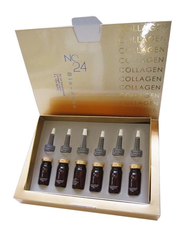 (ส่งฟรีEMS)NC24 Collagen Bio-Nano เซรั่มรกแกะบริสุทธิ์เข้มข้น 100%