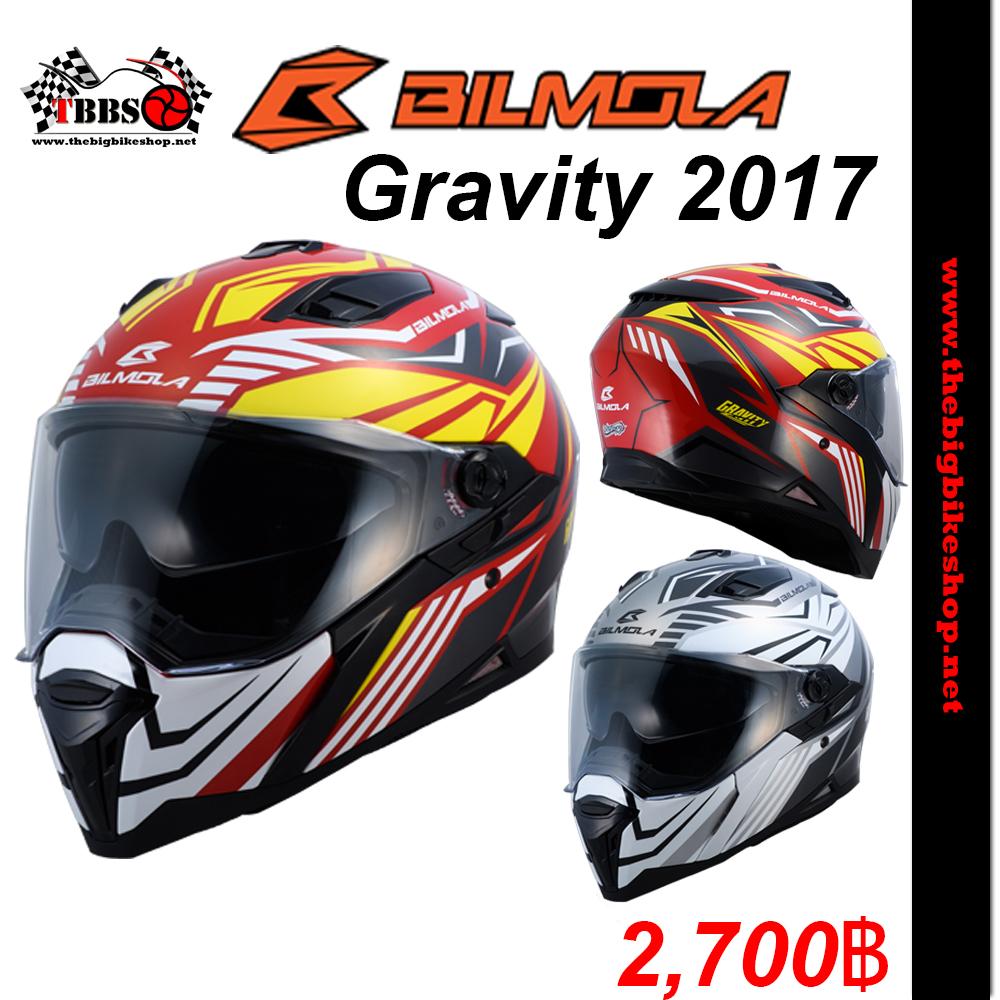 หมวกกันน็อค BILMOLA รุ่น Gravity FEEL (2017)