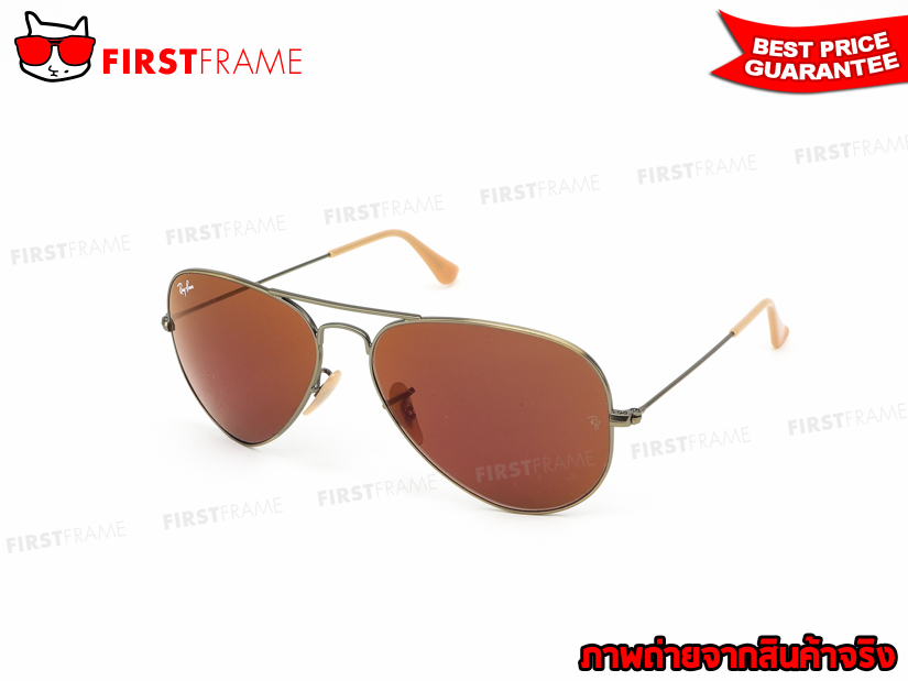 แว่นกันแดด RayBan RB3025 167/2K | AVIATOR LARGE METAL NEW COLOR1