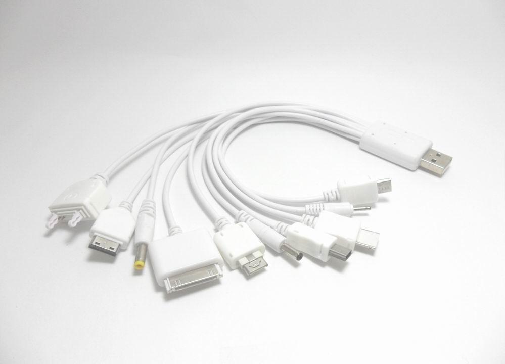 สาย USB Multi Charger 10 in 1