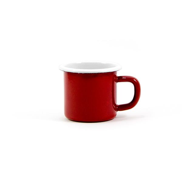 Mini Enamel Mug 6cm. (Red)