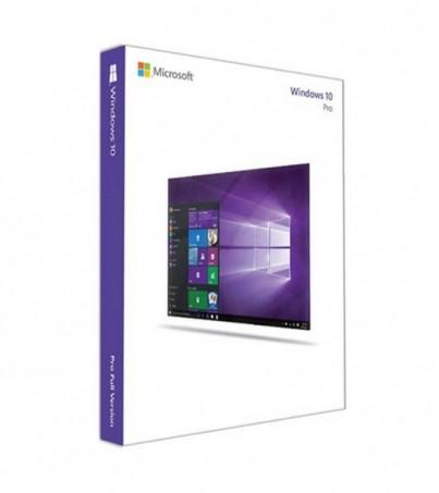 Microsoft Windows 10 Professional (FQC-08789) 32-bit/64-bit Eng Intl USB RS (FPP)