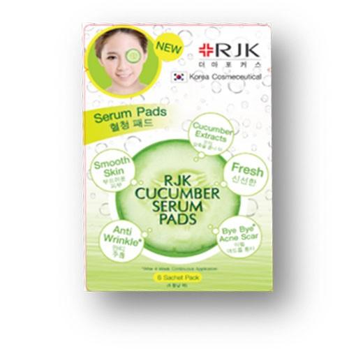 RJK Cucumber serum pads 15 ml. อาร์เจเค กีวี เซรั่ม แพด