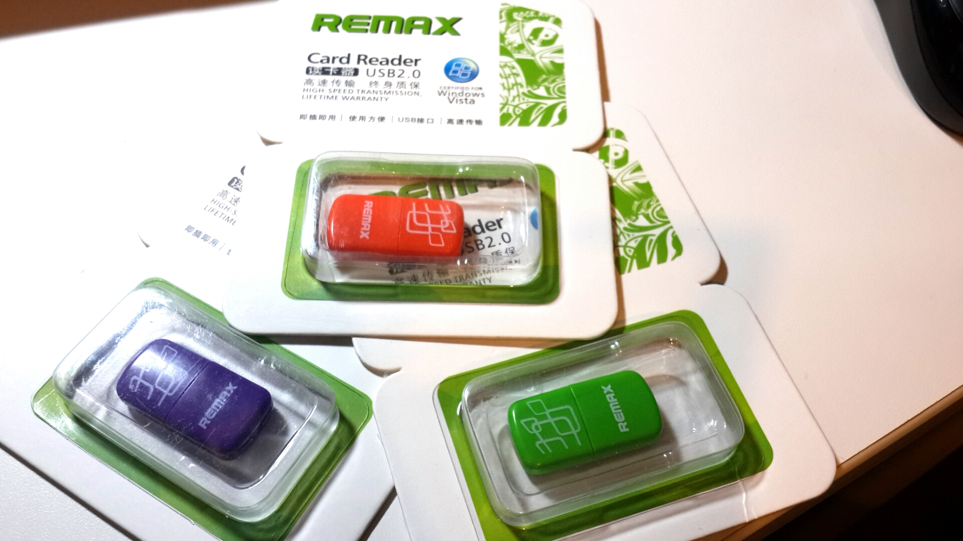 REMAX TF card reader microSD