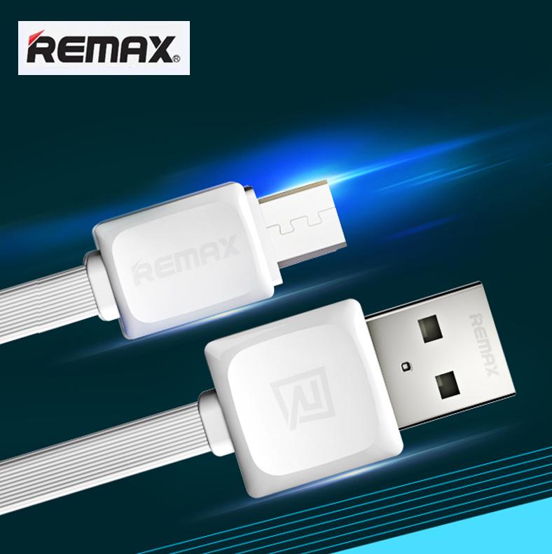 สายชาร์จ Micro USB (5 pin) REMAX FAST Data Cable RC-008m (สายแบน) แท้ 100% ราคา 49 บาท ปกติ 130 บาท