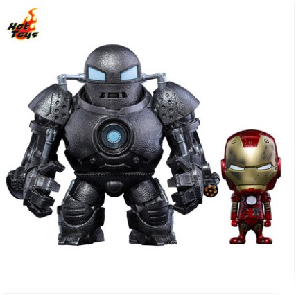 Cosbaby - Iron Man - Iron Man Mark III (Battle Damaged Version) & Iron Monger