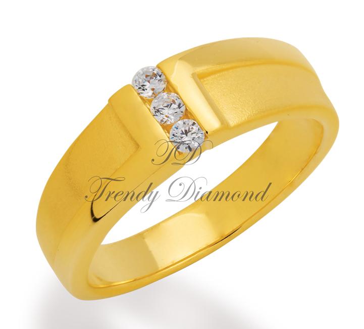 แหวนเพชร Z Ring สีทอง