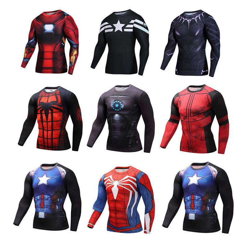 เสื้อแขนยาว SUPERHERO (มีให้เลือกหลายแบบ)