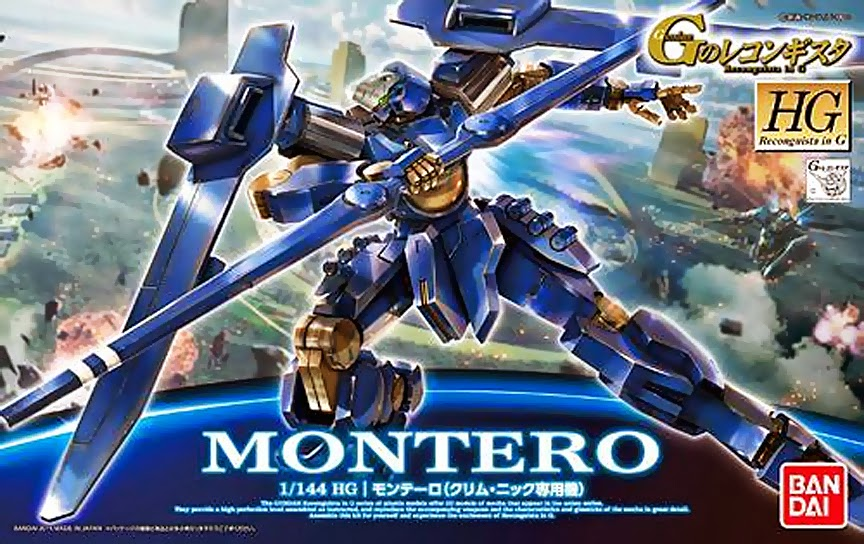HG GS04 1/144 Montero (Klim Nick Custom) 1600y