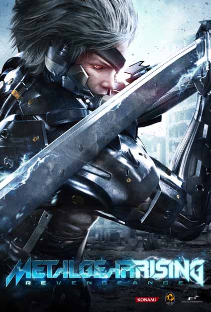Metal Gear Rising Revengeance ( 3 DVD )
