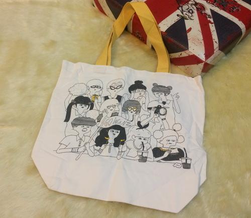 bag14 กระเป๋าผ้าดิบญี่ปุ่น