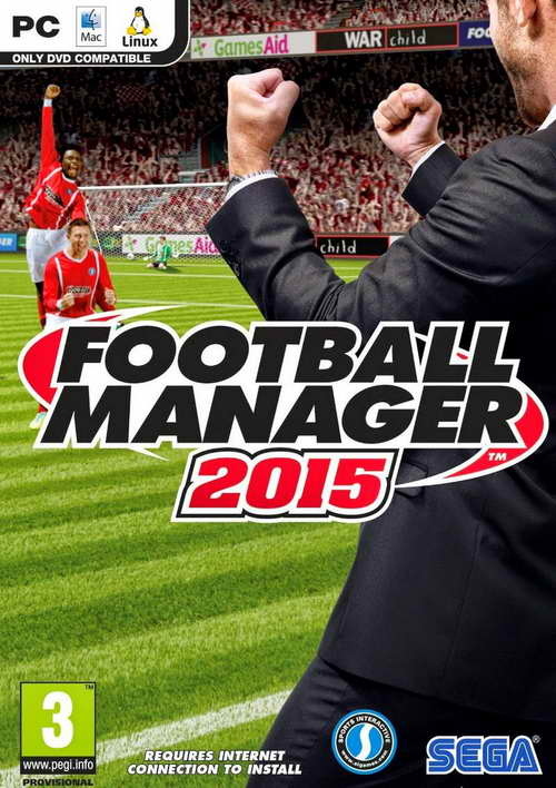 Football Manager 2015 ( 1 DVD )