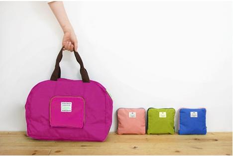 กระเป๋าผ้าเดินทางอเนกประสงค์ กันน้ำ แบบพับเก็บได้ มี 4 สี