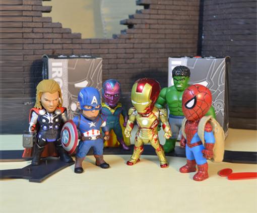 โมเดลรวม Avenger ชุด 6 ตัว