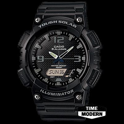 นาฬิกา Casio Standard Solar-Powered Analog-Digital รุ่น AQ-S810W-1A2VDF