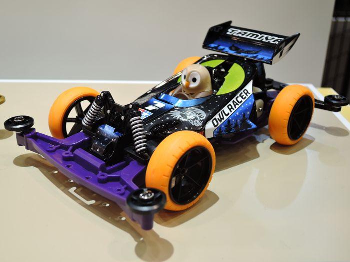 Mini 4WD Owl Racer (Super-II)