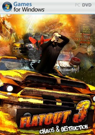FlatOut 3 Chaos & Destruction ( 3 DVD )