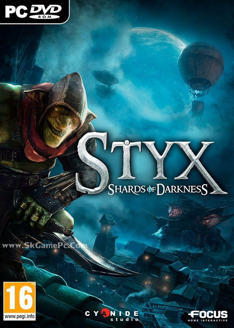 Styx Shards of Darkness ( 3 DVD )