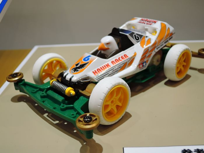 Mini 4WD Hawk Racer (Super-II)