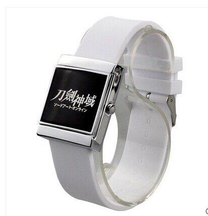 นาฬิกาข้อมือ LED Sword Art Online(สีขาว)