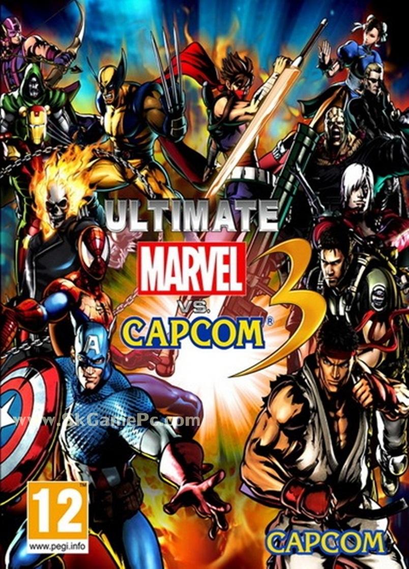 Ultimate Marvel vs Capcom 3 ( 1 DVD )
