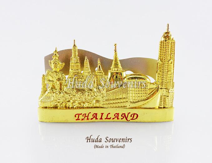 ของที่ระลึกไทย ที่ใส่นามบัตร ลวดลายเอกลักษณ์ไทย ปั้มลายเนื้อนูน สินค้าบรรจุในกล่องมาให้เรียบร้อย สินค้าพร้อมส่ง