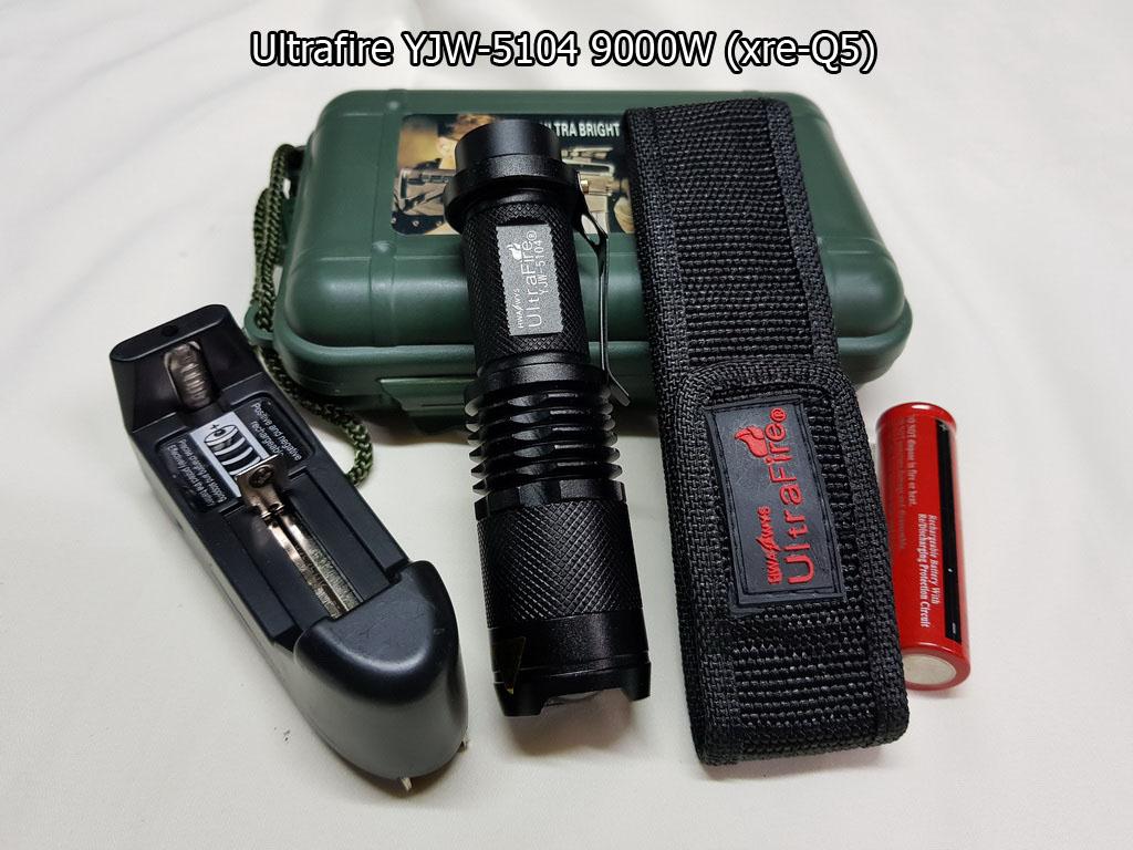 Ultrafire YJW-5104 9000W. (xre-Q5)