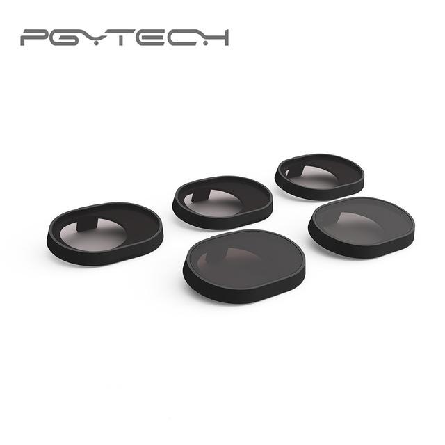 PGYTECH 5pcs/Set Original Lens Filters (UV ND4 ND8 ND16 PL) Lens For DJI SPARK