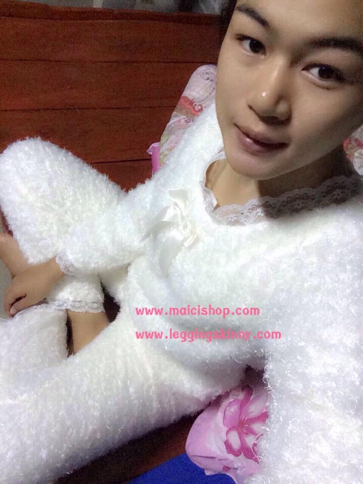 รีวิวชุดนอนน่ารัก เสื้อกันหนาว ชุดนอนลิง Paul Frank ชุดนอน Kitty ชุดนอน Pink ชุดนอนเกาหลี ชุดนอนญี่ปุ่น กางเกงสกินนี่ กางเกง เลคกิ้ง ถุงน่อง Travel bag Bag in Bag กระเป๋าเกาหลี